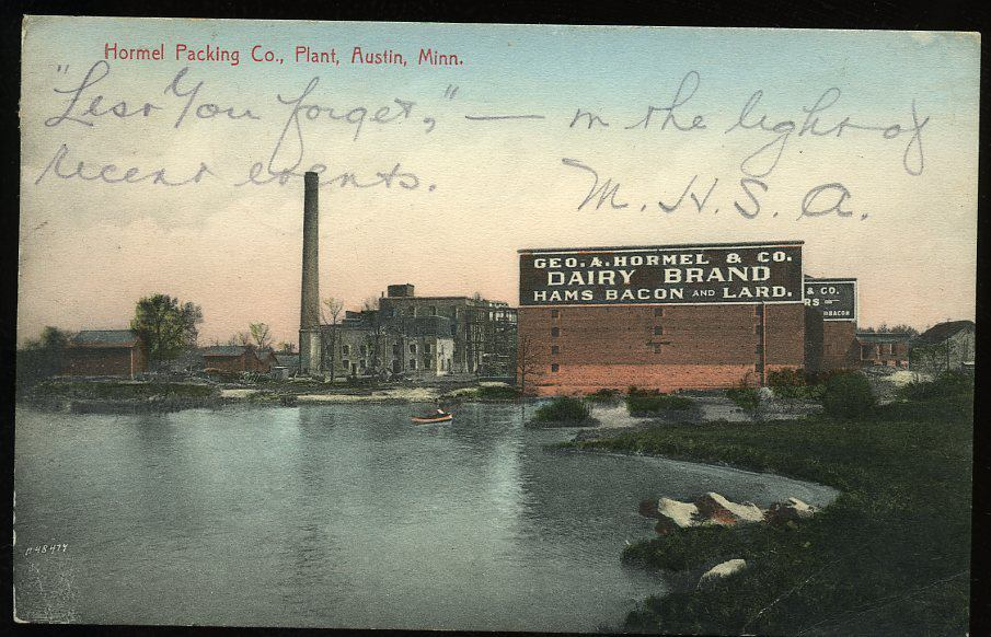 hormel plant mill pond