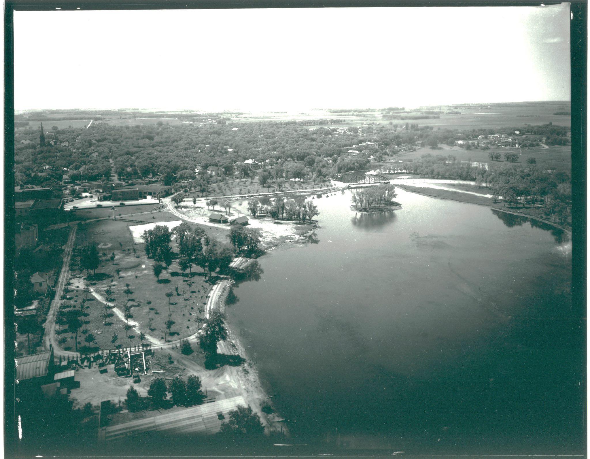 Millpond about 1930 Austin, Mn