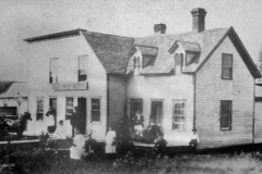 Railway Hotel - late 1880's (located at 427 N. Railway St. - 10th St. N.E. - Later known as the Clay Hotel and then the Avery Hotel in the 1920's)