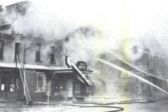 The Grand Hotel (located just east of the present day Paramount Theater) burned down 1958