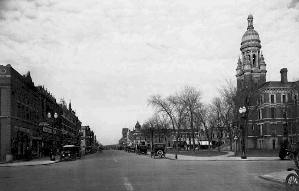 1930 N. Main St. and Maple St. ( looking north)