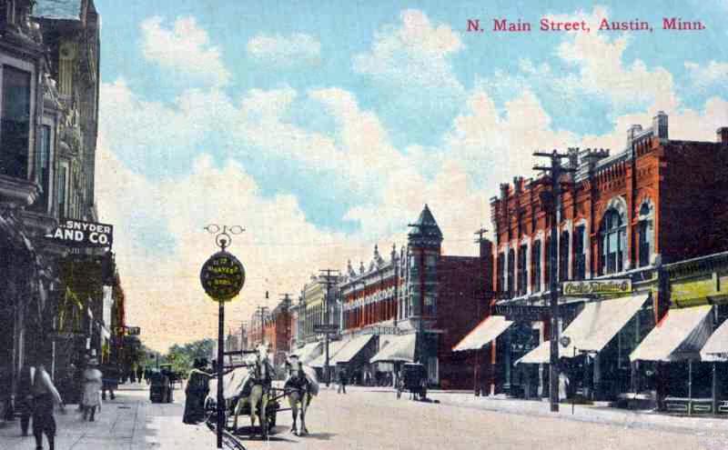 N Main Street Austin, Mn