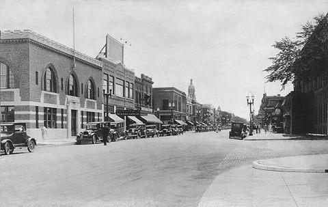 N. Main St. - 1932 (looking south)