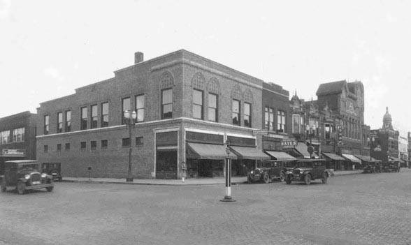 N. Main St. and Water St. (looking towards the SE)