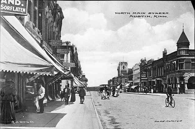 North Main Austin, Mn