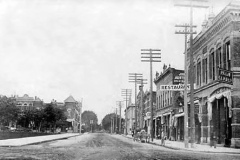 E. Bridge St. - 1908 (100 Blk. - looking towards the west)