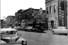 E. Mill St. (3rd Ave. N.E.) - 1950's (looking towards the SE from N. Main St.)