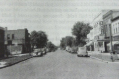 E. Water St. (4th Ave. N.E.) - (looking west from N. Railway St. (10th St. N.E.) - Eagle Roxy Theater is on the right of the pic