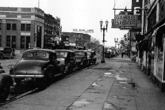 Looking north on Main St. - 1940's Austin, Mn