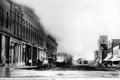 Main St. (looking north) - 1877 Austin, Mn