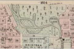 1874 Map Austin MN