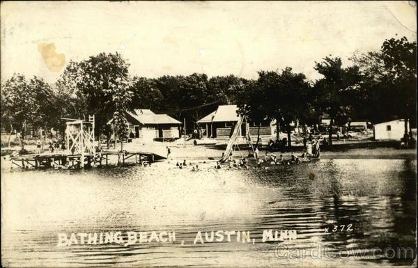 Bathing Beach Austin, Mn