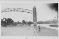 entrance to Horace Austin State Park (downtown Mill Pond) from 1931