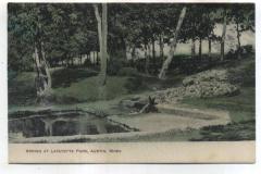 Lafayette Park 1913 Austin, Mn