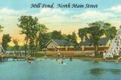 Mill Pond, North Main Street