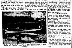1930's Volberg Boat Cedar River, Austin Mn