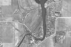 Ramsey Cedar River Aerial View 1951