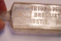 1910 Tryon & Mull Druggist bottle dug