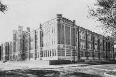 Austin High School - around 1920 (looking towards the NE corner)