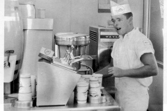 Austin High Student working at Robby's - 1966