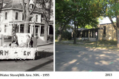 Banfield House (then and now)