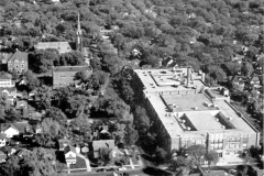 Looking over the Austin High School (towards the north) - 1948