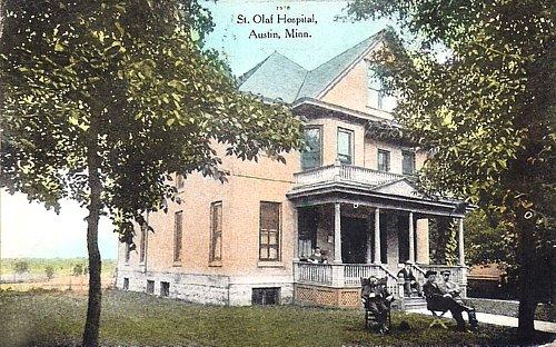 St Olaf Hospital Ashley Austin, Mn