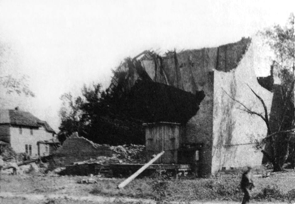1928 Tornado Damage - 23 (Park Theater - stood where the Paramount Theater stands today)