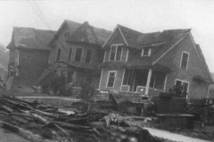 1928 Tornado Damage - 9 (house on Railway St.)